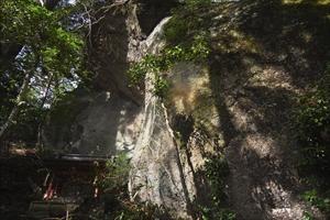 この辺りで一番大きな岩。「擁護...