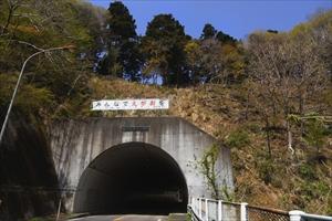 ・・・春の木丸トンネル。このト...