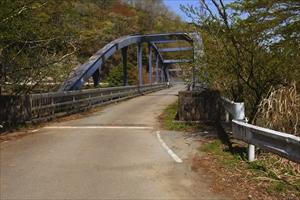 早戸川橋。...
