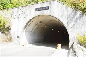 玉すだれの滝トンネルを・・・...