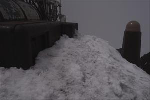 考えてみれば、雪のある剣ヶ峰っ...