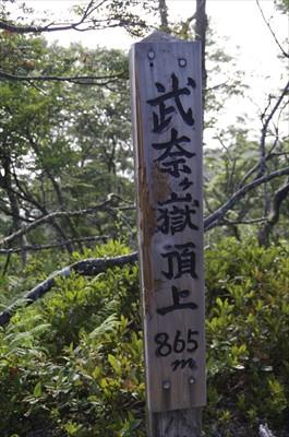 ・・・と思ったらココが武奈ヶ嶽...