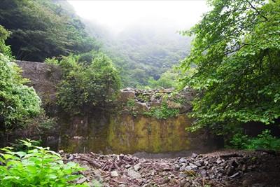 ・・・一番上流側にある砂防ダム...