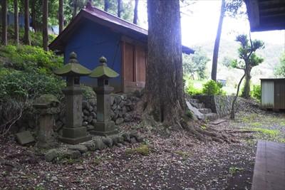 ここが日枝神社だと思う。...