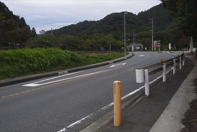 飯山温泉から宮ヶ瀬湖に向かう道...