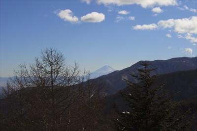 富士山も見える。...