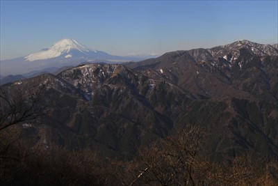 こっちは富士山方面。...