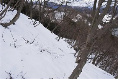 ・・・今日は雪のためにトラバー...