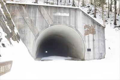 清川トンネル到着。ここまでくれ...