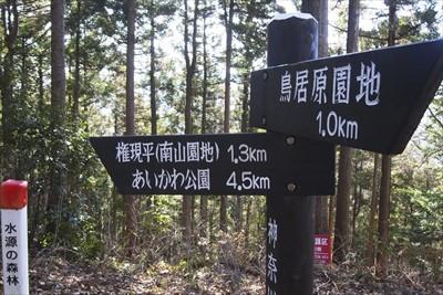 それにしてもこのルート、道標が...