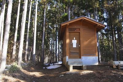 トイレ。冬季閉鎖されています。...