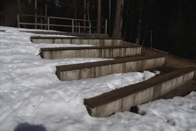 階段状になっているので、天気が...