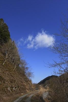 空が青いね〜。...