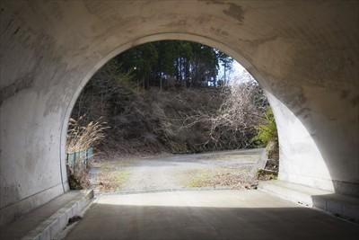 このトンネル結構長いんだよね〜...