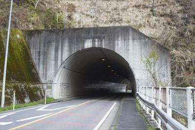 春の木丸トンネル。...