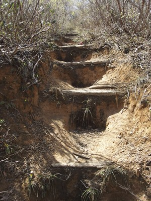 ・・・段差の大きい階段になる。...