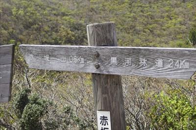 赤坂山まであと600m。...