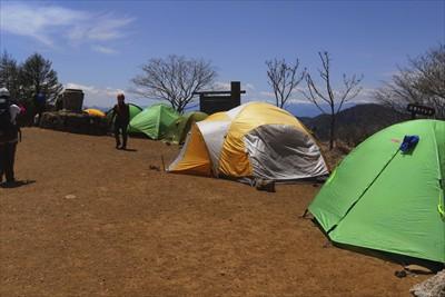 テントも数多くありますね・・・...