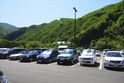 ・・・駐車場到着です。...