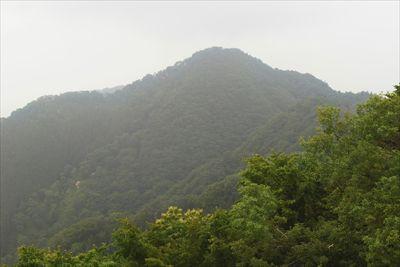 仏果山。天気が好ければ。山頂の...