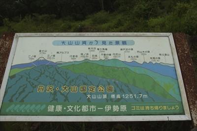 天気が好ければ富士山の向こうに...
