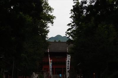 有名な「山」スポット。岩木山が...