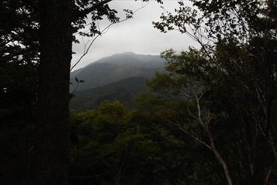 ここから見える大山は、普段見慣...