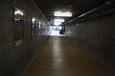 トンネルをくぐって、ゴールのは...