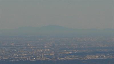 筑波山も見える。...