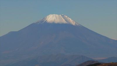富士山にズームイン。...
