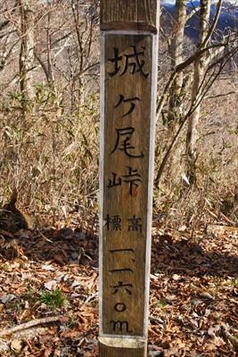 ・・・城ヶ尾峠。...