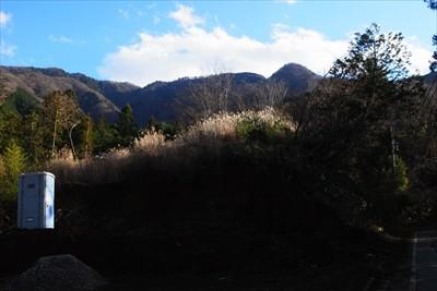 先ほどまであの稜線を歩いていた...