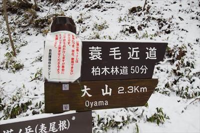 山頂まで2.3km。通常なら1...