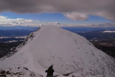 次は北八ヶ岳最高峰の西天狗岳に...