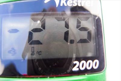 こっちは体感温度・・・−27....
