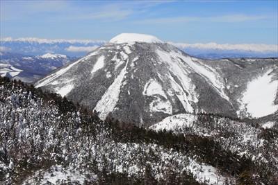 プリンみたいな山(蓼科山)。...