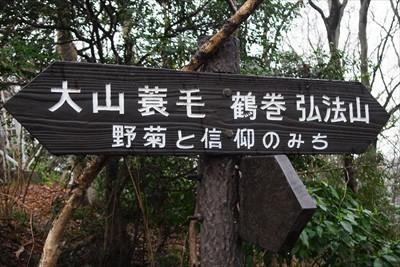 ここが「野菊と信仰のみち」。...
