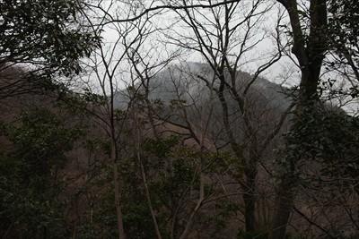 あれが高取山?(違います)...