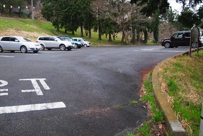 第2駐車場から1分程で第1駐車...