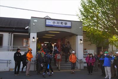 そんなわけで、小川町に着いたは...
