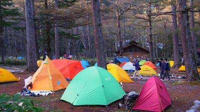 今年はテント多いな・・・。...