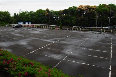 公園上駐車場。通常はここを起点...