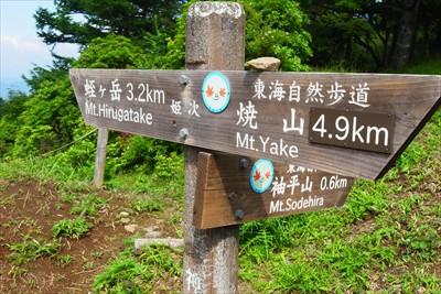 蛭ヶ岳までは3.2kmか・・・...