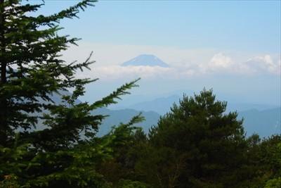 富士山も見えた。もう雪はほぼ無...