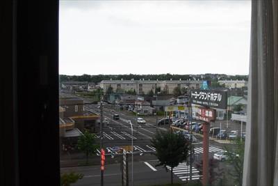 窓からの景色・・・。そのあとし...