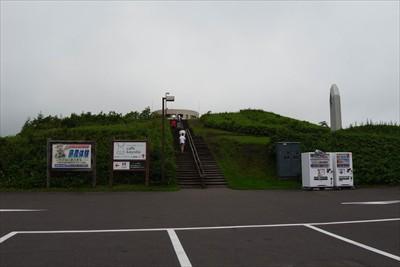 開陽台は丘の上です。観光客、特...