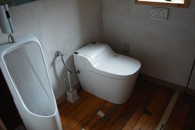 ・・・トイレ・・・...