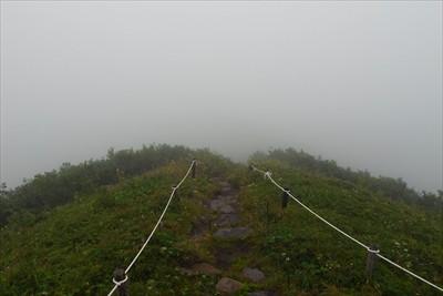 すぐに摩周岳分岐に向かいます。...