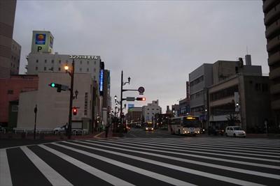 釧路の街中・・・。...