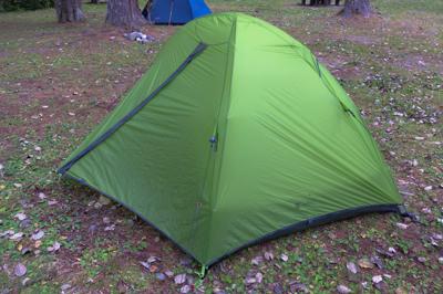 まぁ、何とかあるだろうとテント...